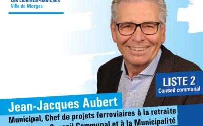 Jean-Jacques Aubert se présente
