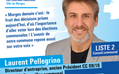 Laurent Pellegrino se présente