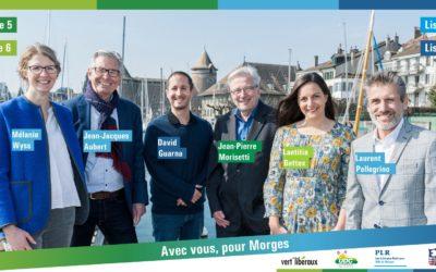 Lettre des six candidats à la Municipalité du Centre et de la Droite
